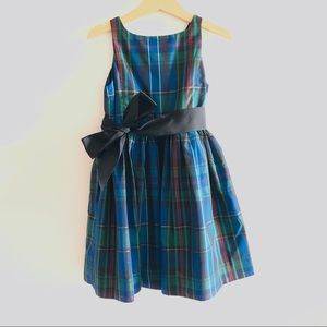 Girls Ralph Lauren Plaid Dress 5T